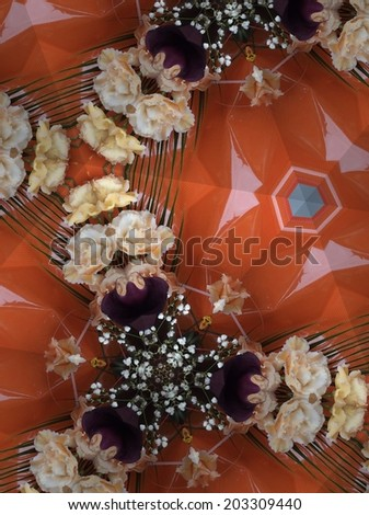 Abstract shell background - stock photo