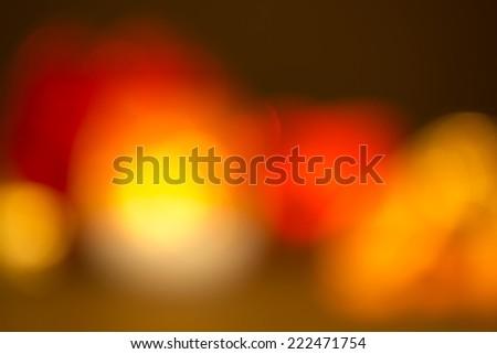 Abstract shining lights - stock photo