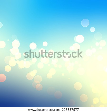 abstract shiny bokeh background