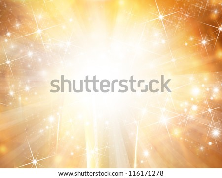 Abstract shiny Christmas background - stock photo