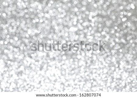 Abstract shiny glitter bokeh christmas background - stock photo