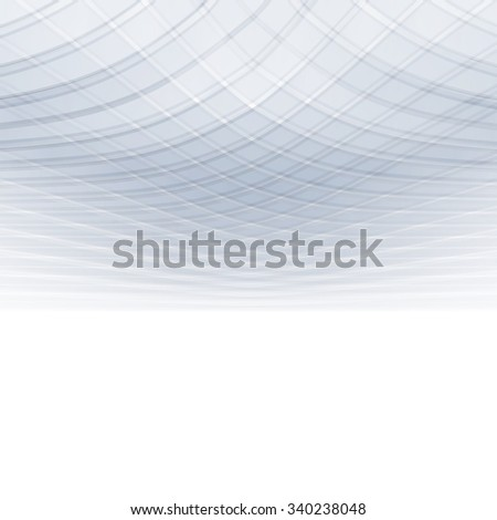 Abstract shiny metallic shapes background with perspective effect - stock photo