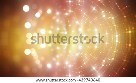 abstract shiny orange background