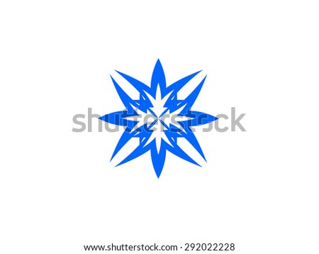 Abstract sign - stock photo