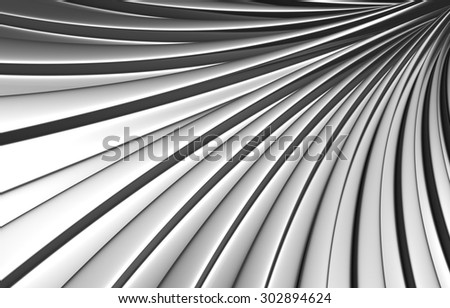 Abstract silver background 3d illustration - stock photo