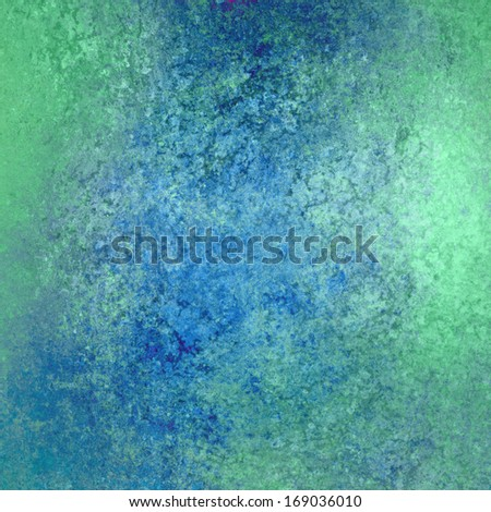 abstract sky blue and primary blue background color, vintage grunge background texture design with rough distressed texture for brochure or web design template backdrop, colorful, fun background - stock photo