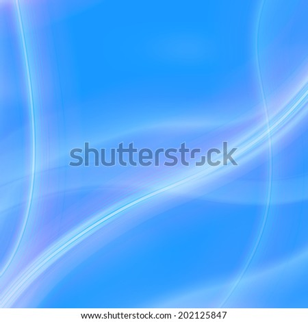 Abstract sky blue vector background with lines