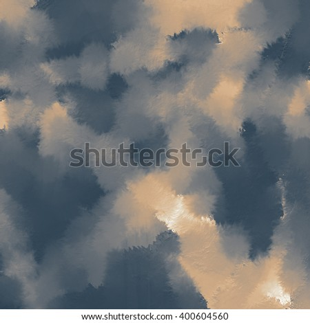 Abstract sky in blue and beige as background. - stock photo