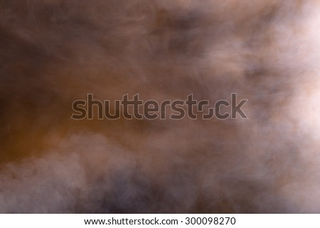 Abstract smoke background that has spooky effect - stock photo