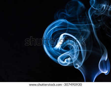 Abstract smoke color background