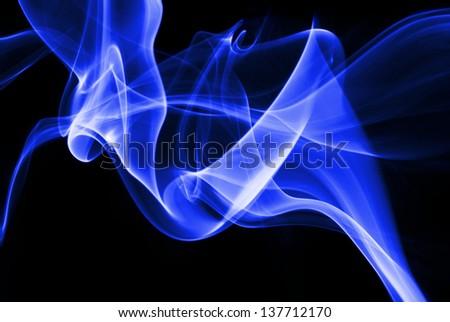 abstract smoke texture - stock photo