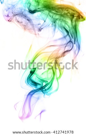 Abstract Smoke Wallpapers.White background.