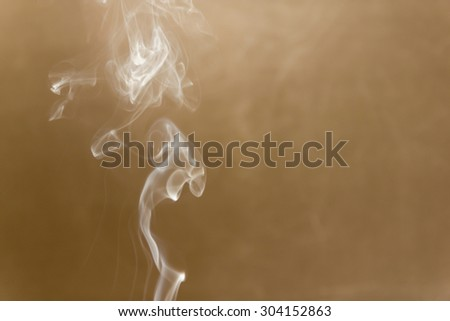 Abstract smoky line Brown background, texture, blur