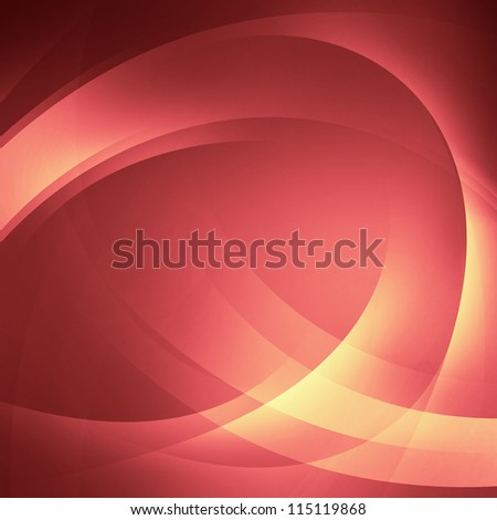 Abstract smooth lines - stock photo