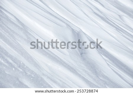 Abstract snow background - stock photo