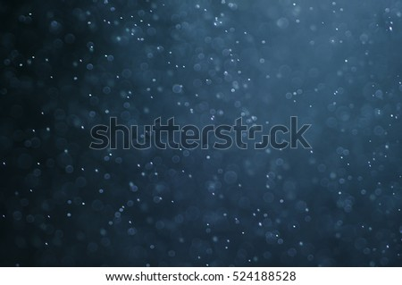 Abstract snow bokeh texture