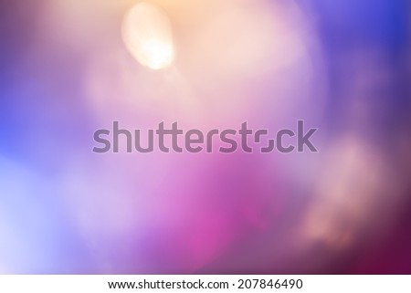 Abstract soft blurred background with a small highlight accent in colors blue, white and purple. - stock photo