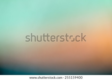 Abstract soft colours blur bokeh background - stock photo
