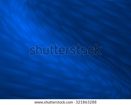 Abstract soft highlighted dark blue dot swirl medical or business background illustration, perfect for all communication arts - stock photo