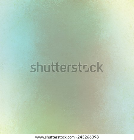 abstract soft vintage style background with white border and gray blue vintage grunge background texture layout, old painted wall - stock photo