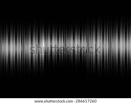 Abstract sound white equalizer background - stock photo