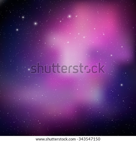 Abstract Space background. Bright colorful cosmos illustration. Night sky. Colorful Universe filled with stars. Colorful Cosmic Background with Light, Shining Stars. Space background. - stock photo