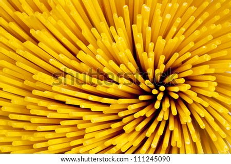 Abstract spaghetti picture