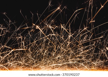 Abstract sparks motion texture.