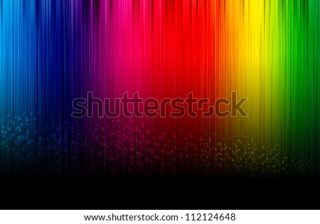 abstract spectrum glowing background. - stock photo