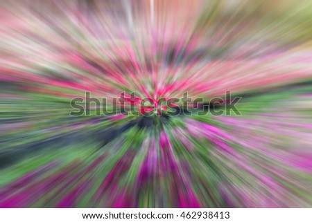 Abstract speed lines background. colorful Radial motion move blur.zooming effect.