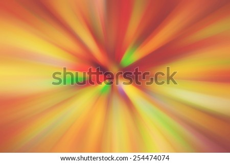Abstract speed lines background. Radial motion blur / zooming effect - stock photo