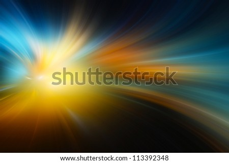 Abstract speed motion - stock photo