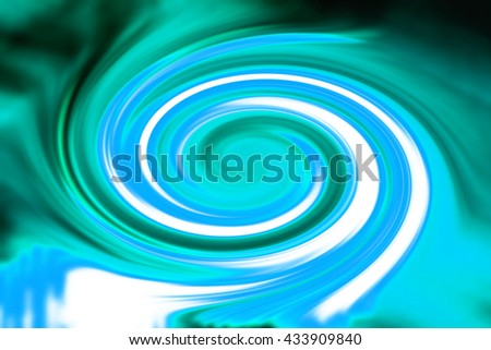 Abstract spiral background illustration - stock photo