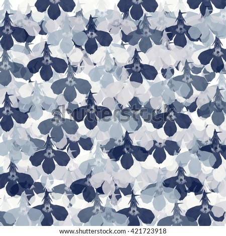Abstract spring pattern