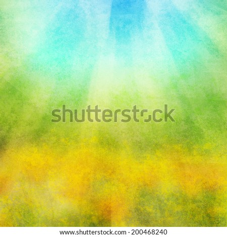 Abstract spring, summer background - stock photo