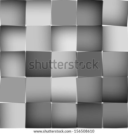Abstract square background - stock photo