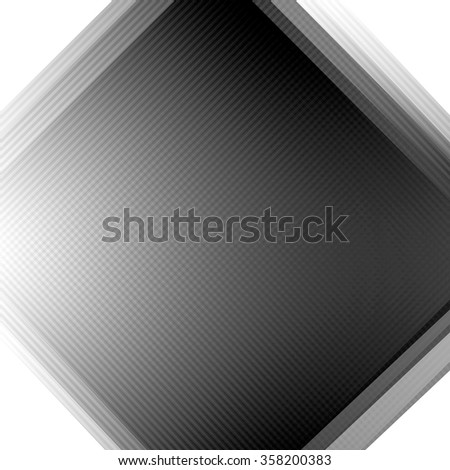 Abstract square gray background for design. Modern digital illustration.