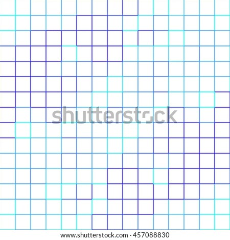 abstract square pixel mosaic pattern   on white background