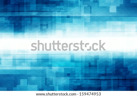 Abstract square tech design background.