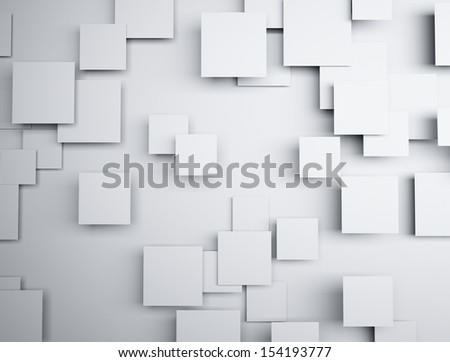 Abstract squares 3d background light and shadow