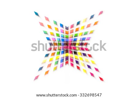 abstract star color background. colourful star background.