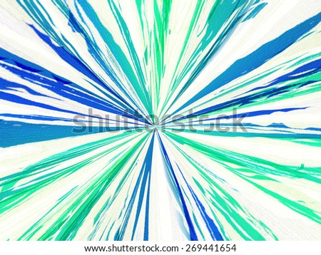 Abstract - Starburst - stock photo