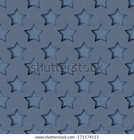 Abstract stars retro seamless pattern background texture