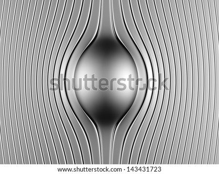 Abstract steel luxury background 3d illustration