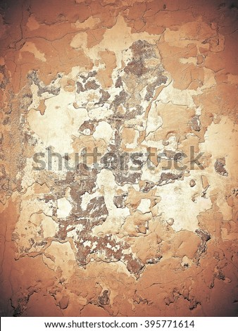 Abstract stonework background texture with old weathered dark stucco black paint stone cement wall in rural room Grungy warm rock surface in hard grime empty place with red specks granite light floor - stock photo