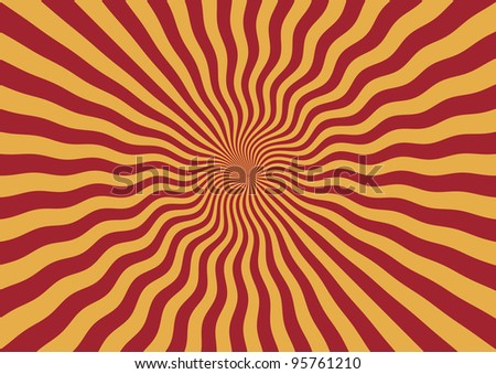 Abstract Striped Background - Bitmap Illustration - stock photo