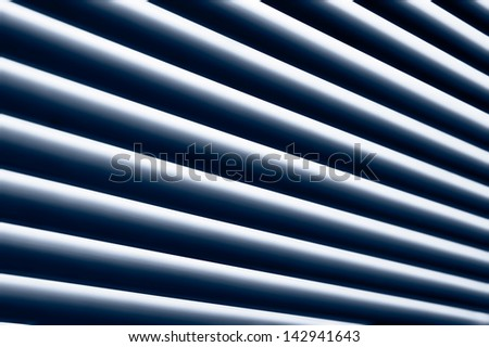 Abstract striped background made from window blinds