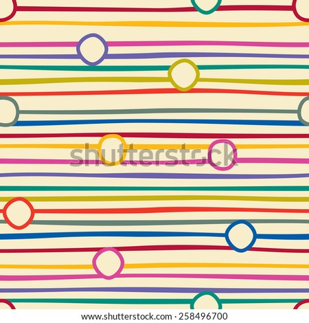 Abstract striped seamless background pattern. Raster version - stock photo