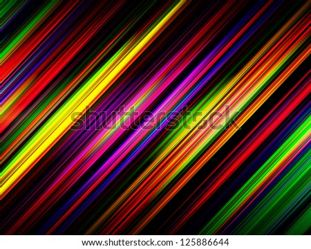 abstract stripes and lines on a dark background - stock photo