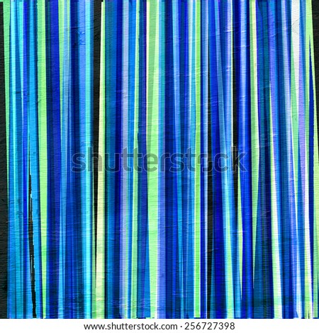 abstract stripes design with wood grain texture - stock photo